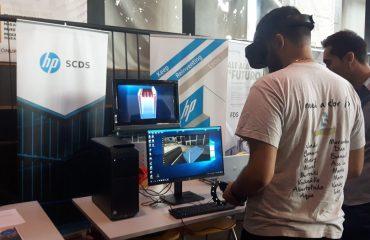 App de realidad inmersiva desarroollada por HP SCDS presentada en Espacio Vías