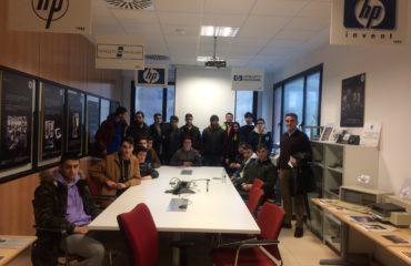 Grupo de alumnos del centro Buen Suceso de la Robla
