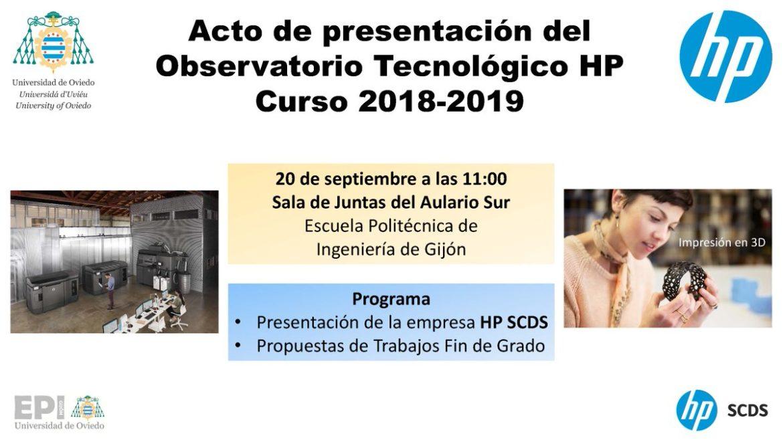 Observatorio Tecnológico HP en la Universidad de Oviedo