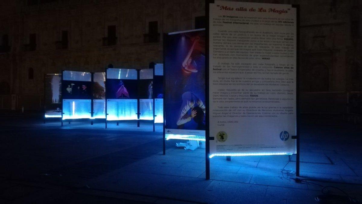 Colaboración de HP con la exposición sobre el Festival de Magia de León