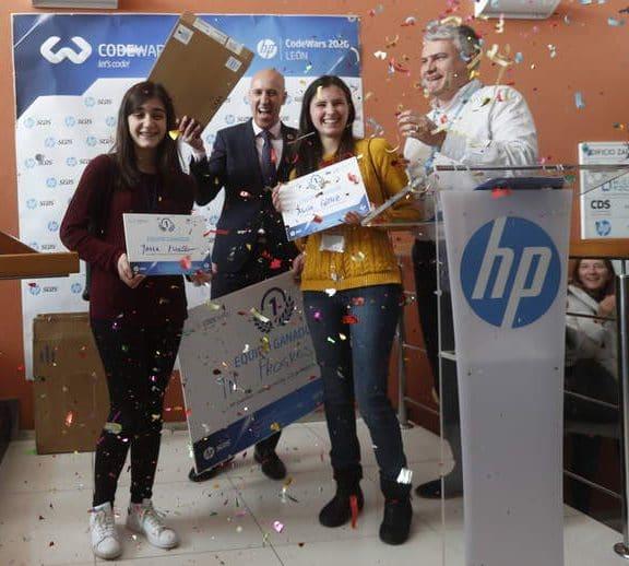 Ganadoras del HP Codewars 2020