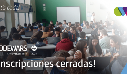 Inscripciones cerradas HP CODEWARS 2021 SPAIN VIRTUAL EDITION